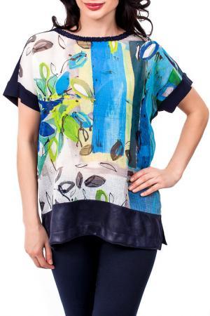 Блуза D.Exterior. Цвет: мульти