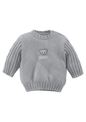 Пуловер KLITZEKLEIN. Цвет: светло-серый