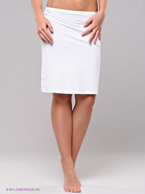 Нижняя юбка (подъюбник) BlackSpade. Цвет: белый
