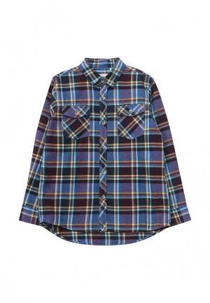 Рубашка Sela. Цвет: синий