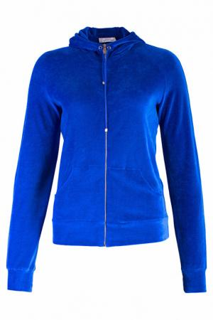 Олимпийка Versace Collection. Цвет: синий