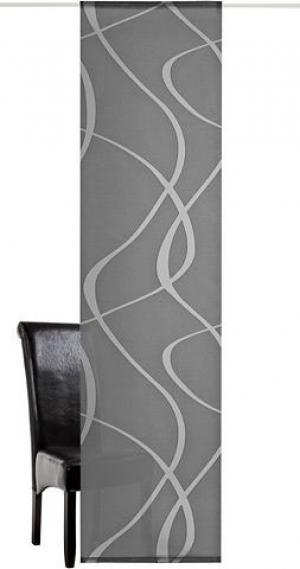 Японская штора «Rumbek» от deko trends, 1 штука (без креплений) TRENDS. Цвет: антрацит