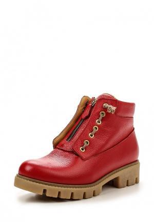 Ботинки Allegri. Цвет: красный