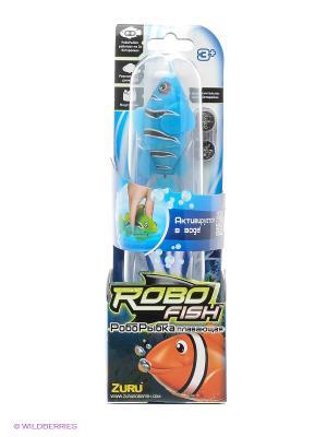 Робо-рыбка Клоун ZURU. Цвет: голубой
