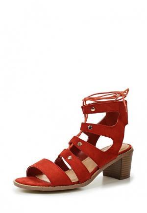 Босоножки WS Shoes. Цвет: красный