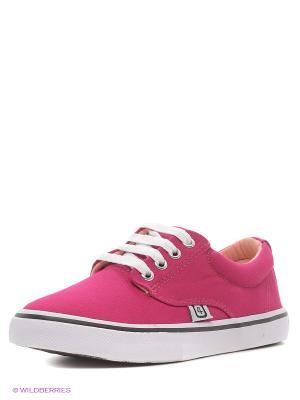 Кеды 4U. Цвет: красный, розовый