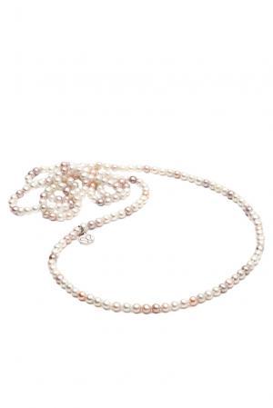 Ожерелье 123130 Nasonpearl. Цвет: розовый