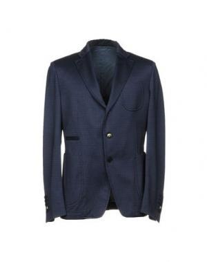 Пиджак JOHN SHEEP. Цвет: грифельно-синий