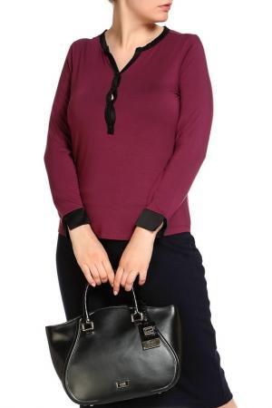 Блуза LAVELLE. Цвет: бордо