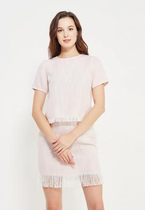 Блуза Maria Golubeva. Цвет: розовый