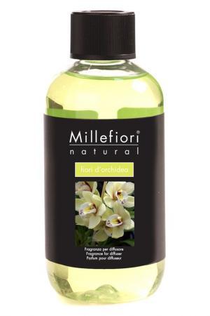 Рефилл Цветы Орхидеи, 250 мл millefiori milano. Цвет: салатовый