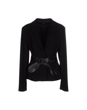 Пиджак NVL. Цвет: черный