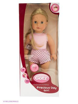 Кукла Джессика блондинка GOTZ. Цвет: розовый