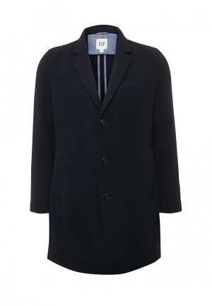 Пальто Gap. Цвет: синий