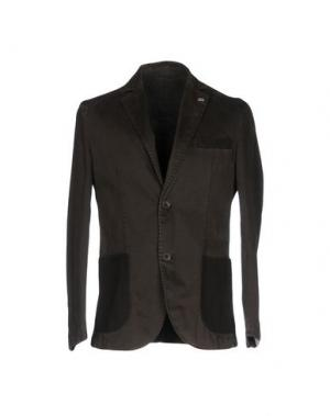 Пиджак BARBATI. Цвет: темно-коричневый