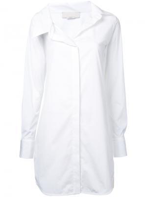 Удлиненная рубашка Monse. Цвет: белый