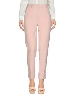 Повседневные брюки VICOLO. Цвет: розовый