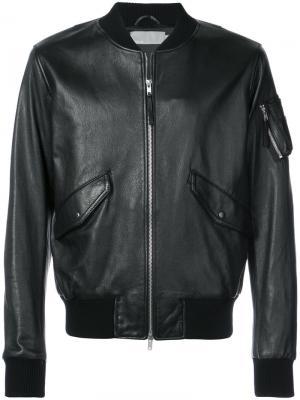 Куртка-бомбер Vince. Цвет: чёрный
