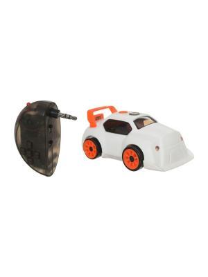 Дрифтбот-радиоуправляемый робот в виде машинки DESKPETS. Цвет: белый