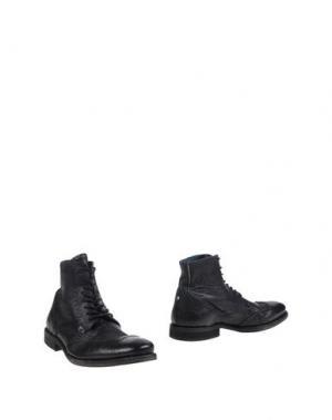 Полусапоги и высокие ботинки WE ARE REPLAY. Цвет: черный