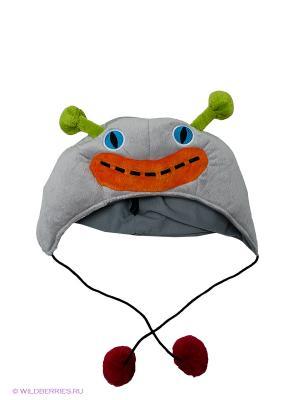 Маскарадная шапка Blur Dooodolls. Цвет: зеленый, серый, оранжевый