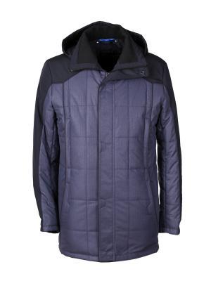 Куртка UID. Цвет: синий