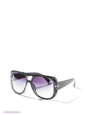 Солнцезащитные очки To be Queen. Цвет: черный, белый