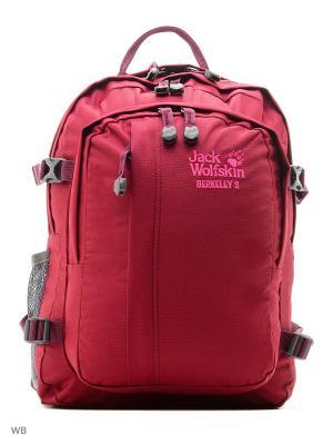 Рюкзак BERKELEY S Jack Wolfskin. Цвет: бордовый