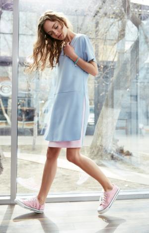 Платье Голубое Trends Brands Base 117569