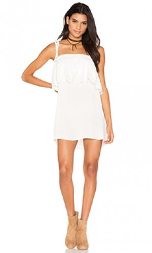 Платье muriel STONE_COLD_FOX. Цвет: белый