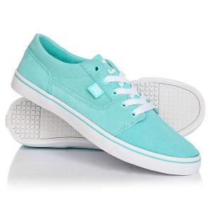 Кеды кроссовки низкие женские DC Tonik W Se Aqua Shoes. Цвет: голубой