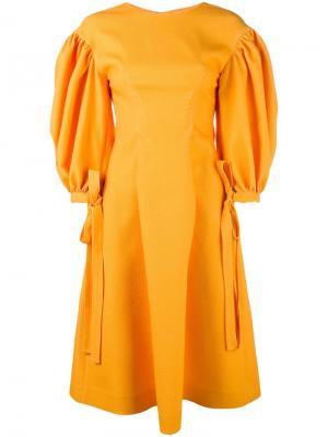 Платье Jamie Rejina Pyo. Цвет: жёлтый и оранжевый
