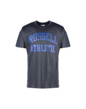 Футболка RUSSELL ATHLETIC. Цвет: свинцово-серый