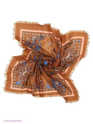 Платок Vittorio Richi. Цвет: коричневый