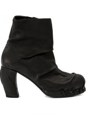 Ботинки по щиколотку Masnada. Цвет: чёрный