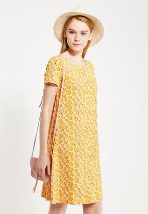 Платье Твое. Цвет: оранжевый