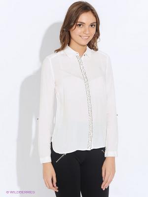 Рубашка Moodo. Цвет: белый