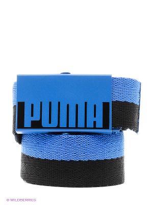 Ремень Webbing Belt Unisex Puma. Цвет: синий