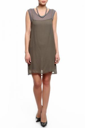 Платье Aquascutum. Цвет: серый