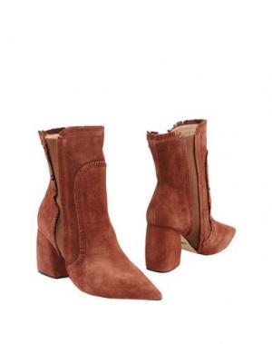 Полусапоги и высокие ботинки WERNER. Цвет: какао