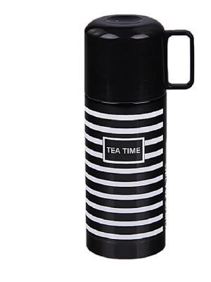 Термос с кружкой 350 мл PATRICIA. Цвет: черный, белый