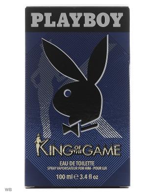 Playboy KING М Товар Pby туалетная вода муж 100мл. Цвет: прозрачный