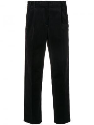 Классические укороченные брюки Ps By Paul Smith. Цвет: розовый и фиолетовый