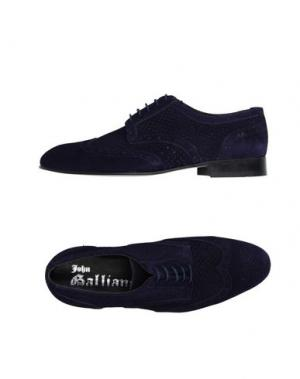 Обувь на шнурках JOHN GALLIANO. Цвет: темно-фиолетовый