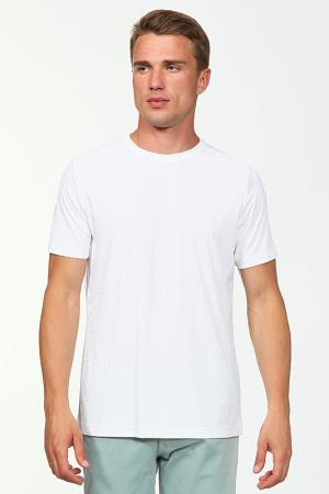Футболка Fiume. Цвет: белый