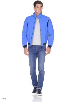 Куртка GEOX. Цвет: лазурный