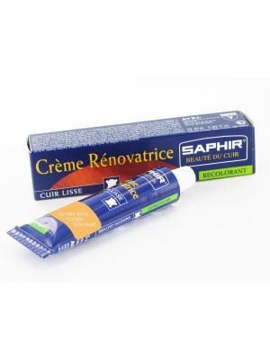 Восстановитель кожи Creme RENOVATRICE, 25 мл. (жидкая кожа)(42 РОЗОВО-БЕЖЕВЫЙ) Saphir. Цвет: бежевый