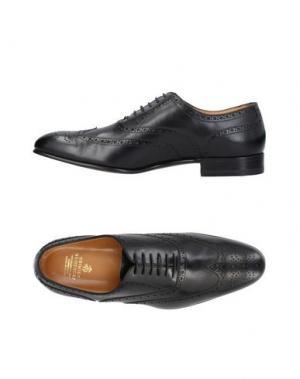 Обувь на шнурках BROOKS BROTHERS. Цвет: черный
