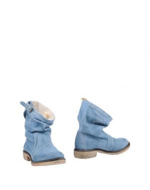Полусапоги и высокие ботинки PENELOPE. Цвет: небесно-голубой