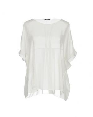 Блузка HANITA. Цвет: белый